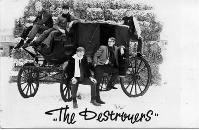 Destroyers eerste bandfoto