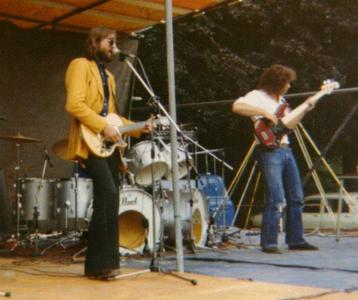 Harley Jay Band : tijdens optreden