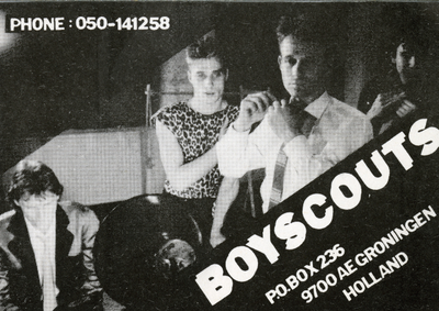 Boyscouts : strooifoto