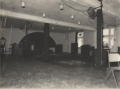Simplon : interieur tijdens verbouwing