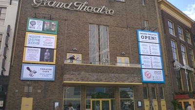 Grand Theatre : pand voorkant