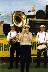 Mississippi Brass Band optreden
