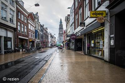 Elpee : Oosterstraat 24-1 in Groningen, richting Martinitoren