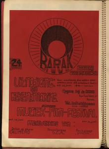 De Barak : uitnodiging en bekendmaking