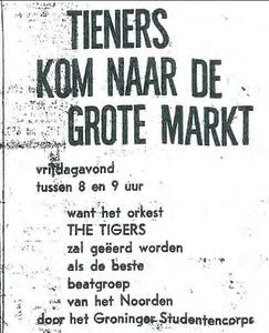 Rocking Tigers : oproep om naar de Grote Markt te komen