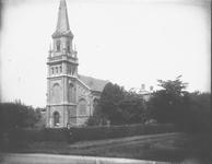 Gezicht op de Hervormde Kerk te Wilnis