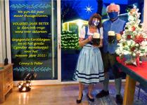 Kerstkaart familie Forsthövel