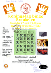 Bingokaarten van de Koningsdagbingo Breukelen