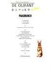 Paasbrunch menukaart voor afhaal- of thuisbezorgmenu van restaurant De Olifant te Breukelen
