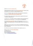 Brief van de Oranjevereniging Breukelen aan de leden