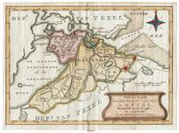 'Nieuwe kaart van het Departement van den Amstel, verdeeld in VII ringen'