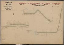 Tweede suppletoirblad van kaart nr. II (2) van de Ligger der Wegen der gemeente Weesp