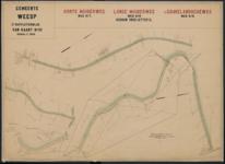 Derde suppletoirblad van kaart nr. III (3) van de Ligger der Wegen der gemeente Weesp