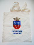 50 Katoenen tas van de voormalige gemeente Abcoude