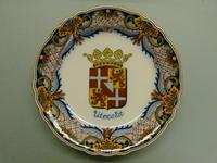 78 Herdenkingsbord met het wapen van de provincie Utrecht