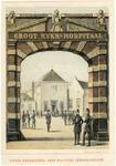 38260 Gezicht op de toegangspoort tot de Rijkskweekschool voor Militaire Geneeskundigen en het Groot Rijkshospitaal ...