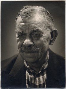 Een portret van Dhr. Duisters, bijgenaamd  De Pruus